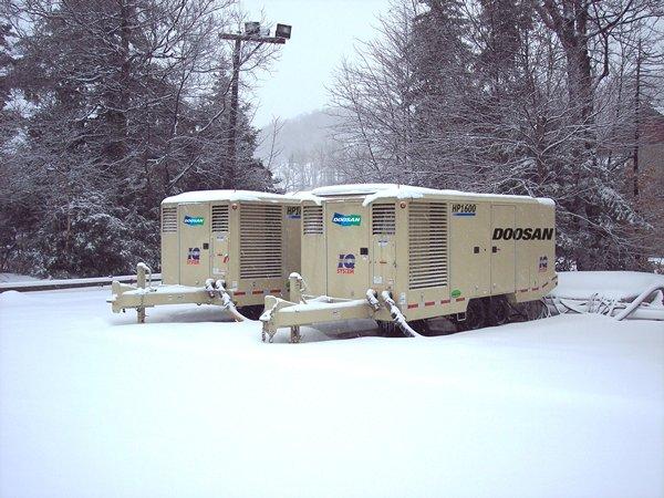 این کمپرسورها مناسب کار در هوای سرد نیز هستند.