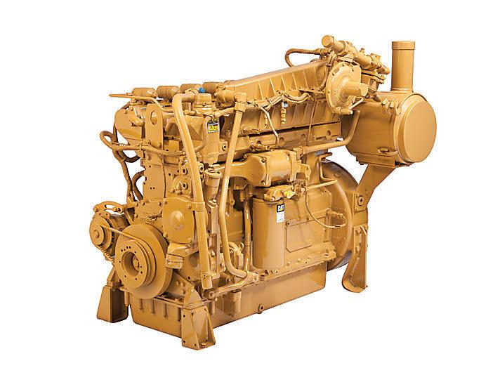 تصویری از موتور کاترپیلار