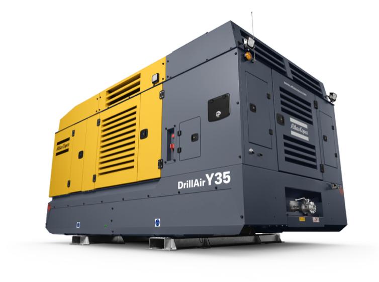 تصویری تزئینی از یک دستگاه کمپرسور هوای دیزل-اسکروی Y35
