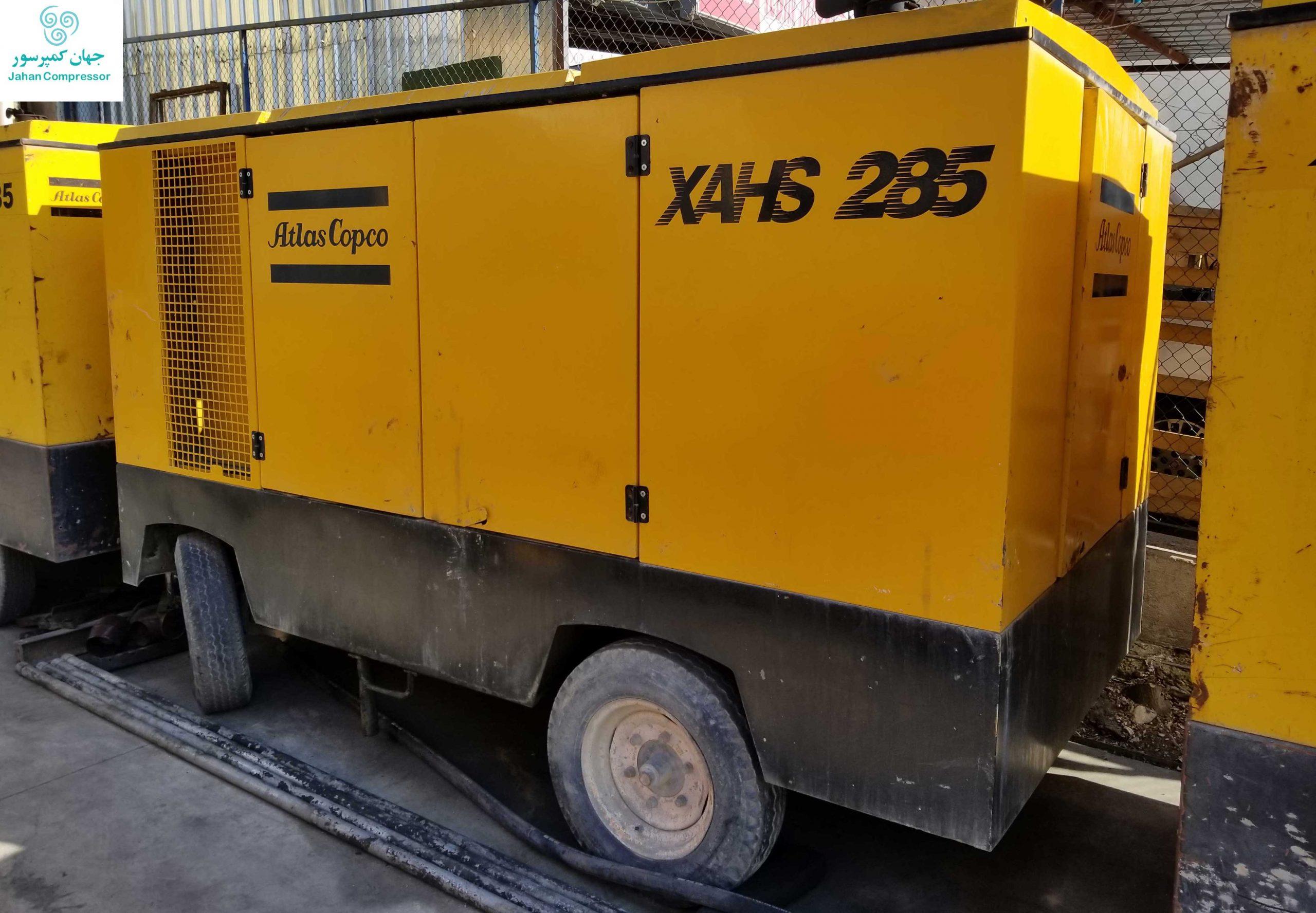 کمپرسور دیزل اطلس کوپکو مدل XAHS 285